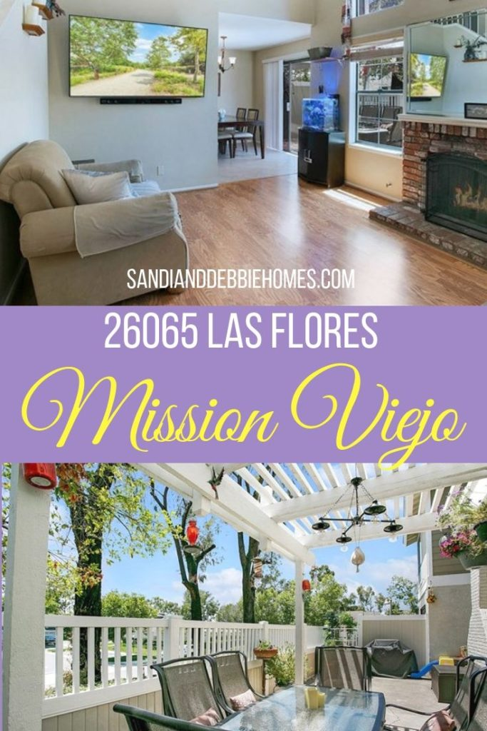 26065 Las Flores in Mission Viejo has divided up its square footage in a useful and beautiful way that makes it an easy decision.