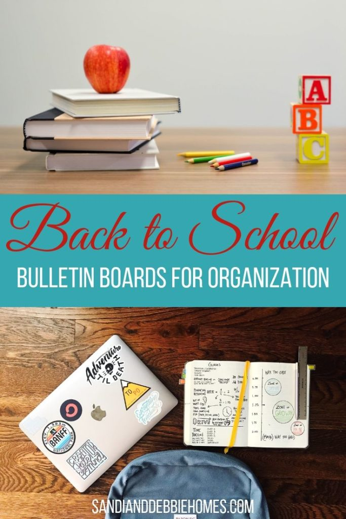 You can use back to school bulletin boards to help keep everyone organized as we start the next school year and work our way to the next summer.