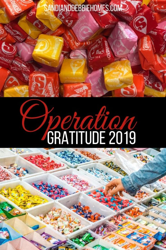 Welcome to Operation Gratitude 2019, where we remind our troops that they will never be alone we will always support them.