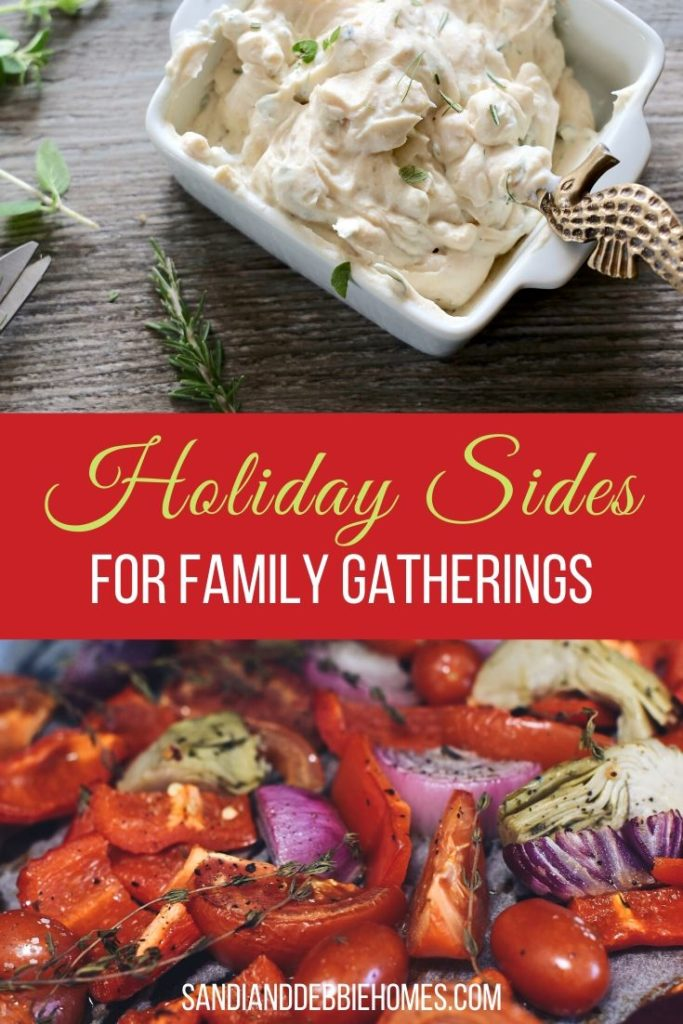 Holiday side dishes are meant to pair well with the star dish of any holiday. Traditions can come into play but ultimately taste is what's important.
