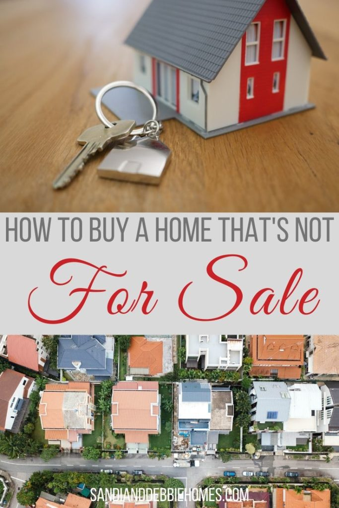 You can easily learn how to buy a home that's not for sale and while it is difficult it is not impossible to get the job done.