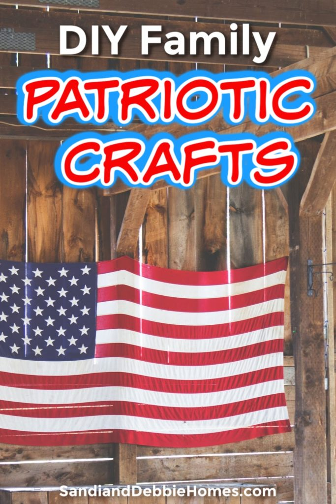 Take some DIY patriotic crafts to make with your kids as an opportunity to teach, learn, and express your love for your country.