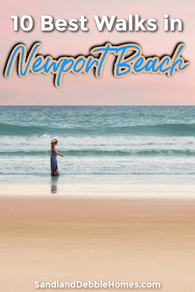 The best walks in Newport Beach give you scenery to enjoy and custom distances to choose from for a healthy and safe excursion.
