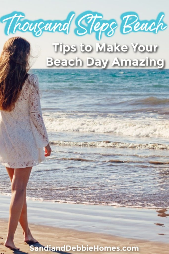 Take advantage of the knowledge from others and follow a few easy Thousand Steps Beach tips to make your beach day one for the scrapbooks.