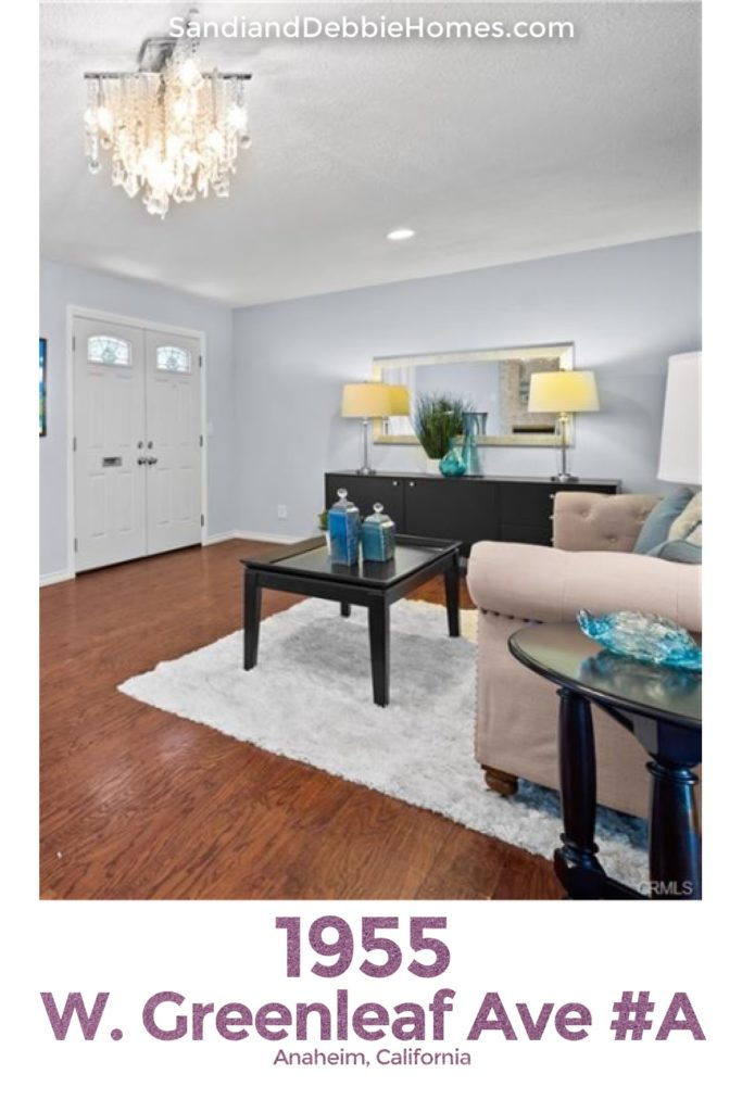 Your new home is waiting for you at 1955 W Greenleaf Ave in Anaheim California, one of the most active places to live in Orange County.
