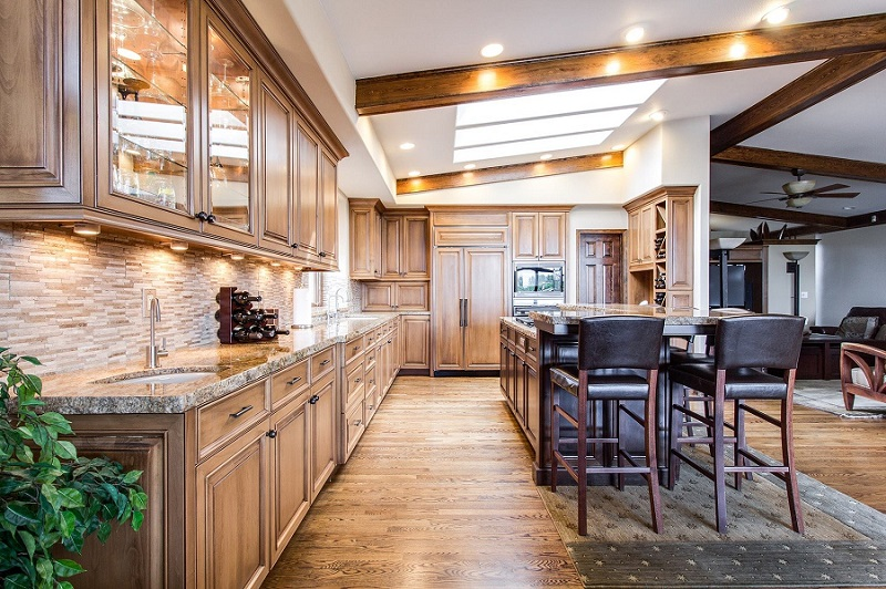 Covenant Hills Ladera Ranch View of a Kitchen