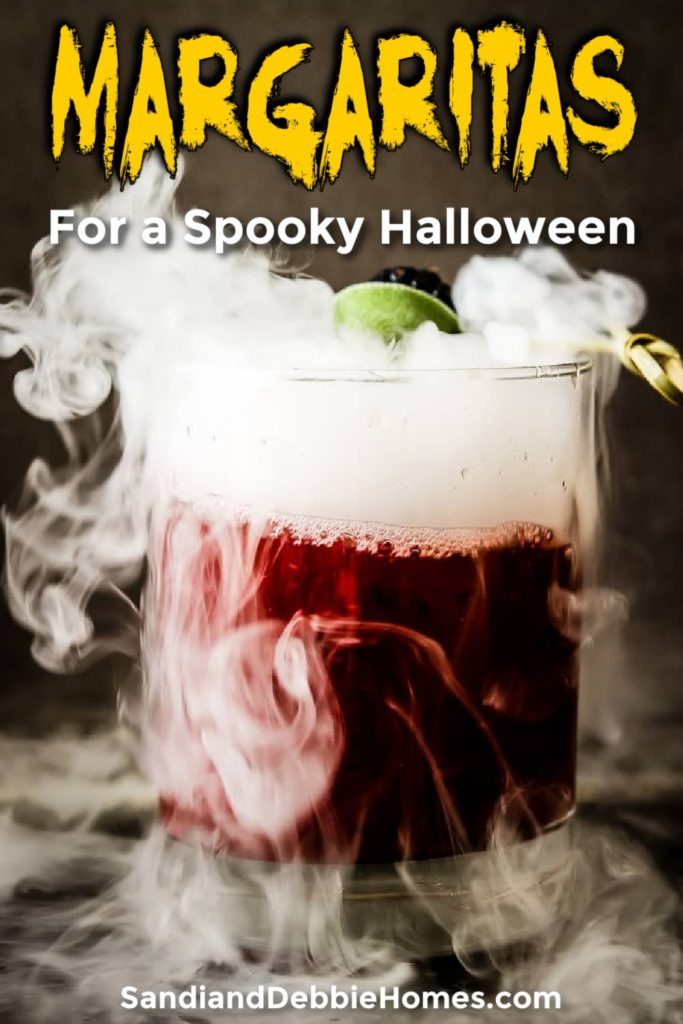 Halloween margarita recipes are spookily delicious showcasing flavors from the fall season mixed with creepy themes.