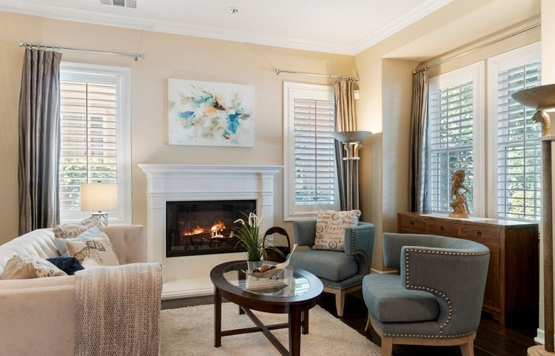 3 Snowbush Ladera Ranch Ca Fireplace