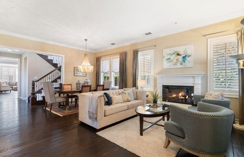 3 Snowbush Ladera Ranch Ca Living Room