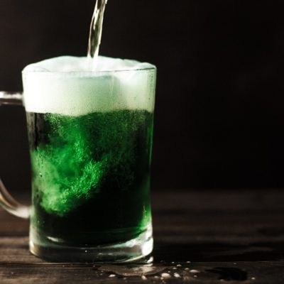 St. Patrick's Day Green Cocktails